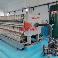 Landfill Leachate Treatment Filter Press