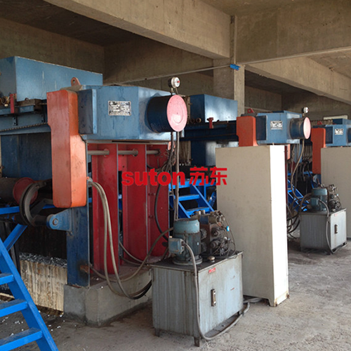Steel Wastewater Filter Press